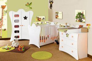 stickers muraux chambre bébé